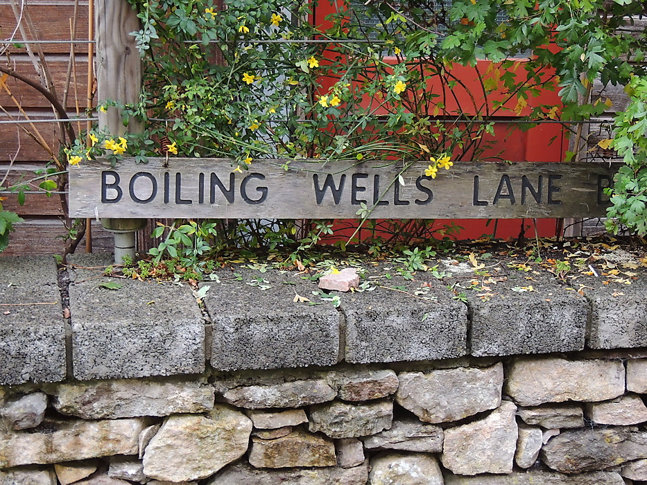 photoblog image Boiling Wells Lane