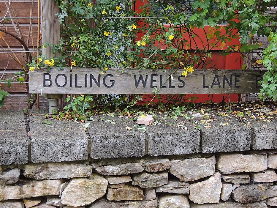 photoblog image Boiling Wells Lane
