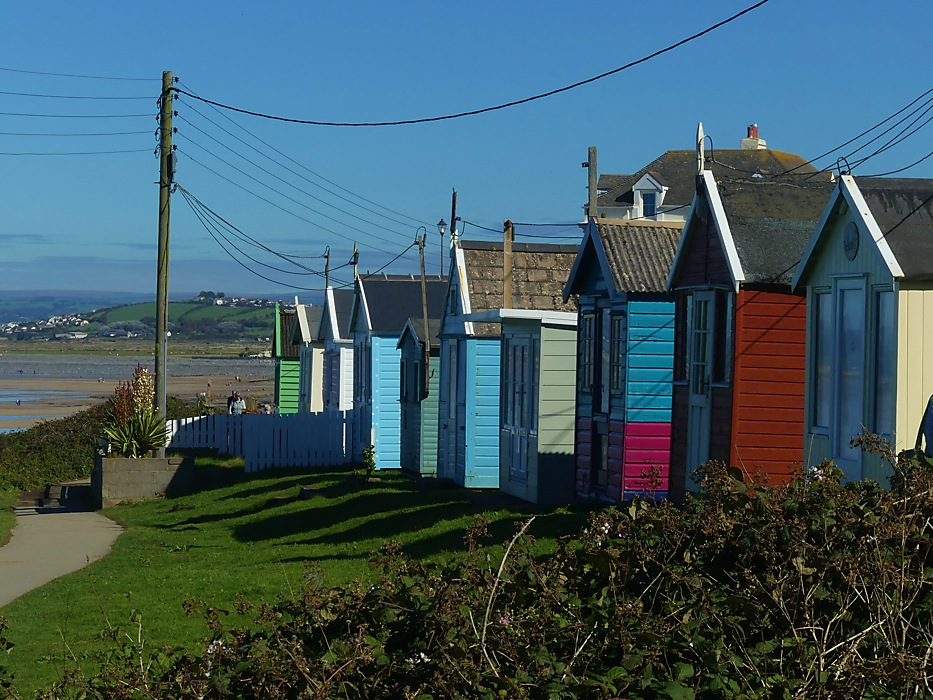 photoblog image Westward Ho! Beach Huts